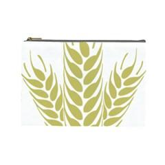 Tree Wheat Cosmetic Bag (large)  by Alisyart
