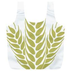 Tree Wheat Full Print Recycle Bags (l)  by Alisyart