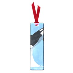 Whale Animals Sea Beach Blue Jump Illustrations Small Book Marks by Alisyart