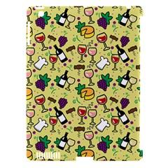 Wine Cheede Fruit Purple Yellow Apple Ipad 3/4 Hardshell Case (compatible With Smart Cover) by Alisyart