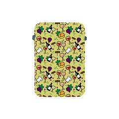 Wine Cheede Fruit Purple Yellow Apple Ipad Mini Protective Soft Cases by Alisyart