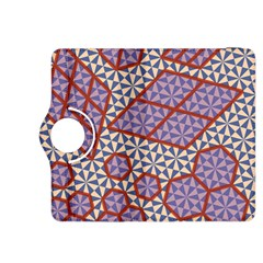 Triangle Plaid Circle Purple Grey Red Kindle Fire Hdx 8 9  Flip 360 Case by Alisyart