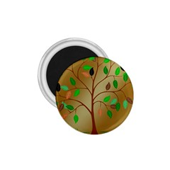Tree Root Leaves Contour Outlines 1 75  Magnets by Simbadda