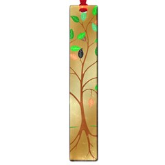 Tree Root Leaves Contour Outlines Large Book Marks by Simbadda