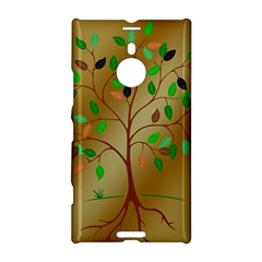 Tree Root Leaves Contour Outlines Nokia Lumia 1520 by Simbadda