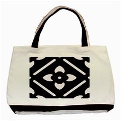 Pattern Background Basic Tote Bag by Simbadda