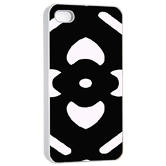 Pattern Background Apple Iphone 4/4s Seamless Case (white) by Simbadda