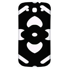 Pattern Background Samsung Galaxy S3 S Iii Classic Hardshell Back Case by Simbadda