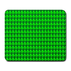 St  Patricks Day Green Large Mousepads by PhotoNOLA