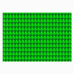 St  Patricks Day Green Large Glasses Cloth by PhotoNOLA