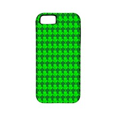St  Patricks Day Green Apple Iphone 5 Classic Hardshell Case (pc+silicone) by PhotoNOLA