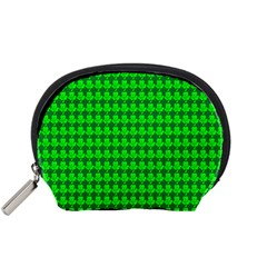 St  Patricks Day Green Accessory Pouches (small)  by PhotoNOLA