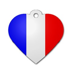 Shield On The French Senate Entrance Dog Tag Heart (one Side) by abbeyz71