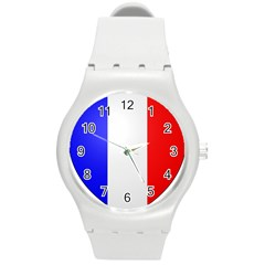 Shield On The French Senate Entrance Round Plastic Sport Watch (m) by abbeyz71