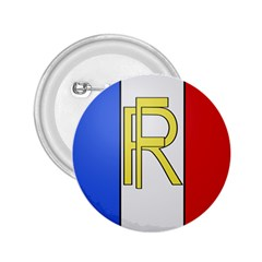 Semi Official Shield Of France 2 25  Buttons by abbeyz71