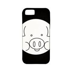 Pig Logo Apple Iphone 5 Classic Hardshell Case (pc+silicone) by Simbadda