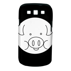 Pig Logo Samsung Galaxy S Iii Classic Hardshell Case (pc+silicone) by Simbadda