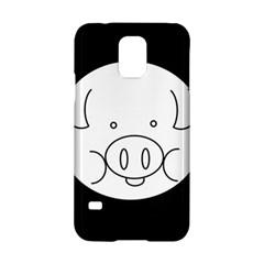 Pig Logo Samsung Galaxy S5 Hardshell Case  by Simbadda