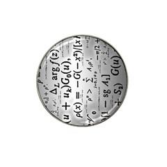 Science Formulas Hat Clip Ball Marker (4 Pack) by Simbadda