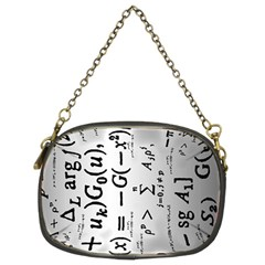 Science Formulas Chain Purses (two Sides)