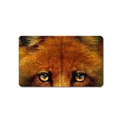 Fox Magnet (name Card) by Simbadda