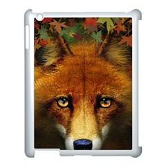 Fox Apple Ipad 3/4 Case (white) by Simbadda