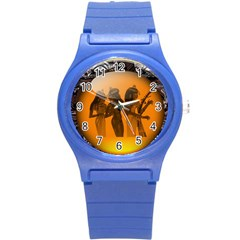 Maps Egypt Round Plastic Sport Watch (s) by Simbadda