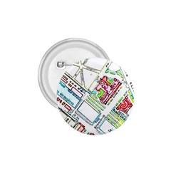 Paris Map 1 75  Buttons by Simbadda