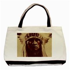 Indian Basic Tote Bag (two Sides) by Simbadda