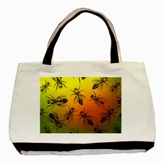 Insect Pattern Basic Tote Bag (two Sides) by Simbadda