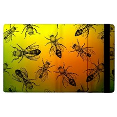 Insect Pattern Apple Ipad 3/4 Flip Case by Simbadda