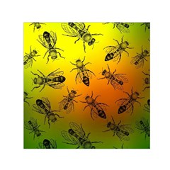 Insect Pattern Small Satin Scarf (square) by Simbadda