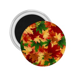 Autumn Leaves 2 25  Magnets by Simbadda