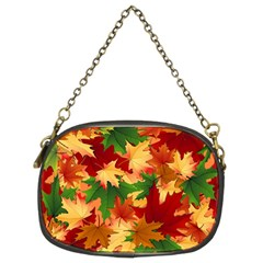 Autumn Leaves Chain Purses (two Sides)