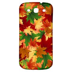 Autumn Leaves Samsung Galaxy S3 S Iii Classic Hardshell Back Case by Simbadda