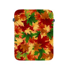 Autumn Leaves Apple Ipad 2/3/4 Protective Soft Cases by Simbadda