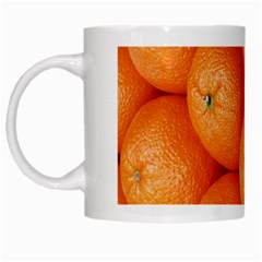 Orange Fruit White Mugs by Simbadda