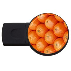 Orange Fruit Usb Flash Drive Round (2 Gb) by Simbadda