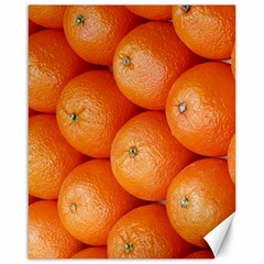 Orange Fruit Canvas 16  X 20   by Simbadda