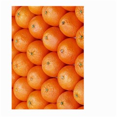 Orange Fruit Large Garden Flag (two Sides) by Simbadda