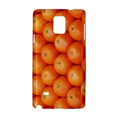 Orange Fruit Samsung Galaxy Note 4 Hardshell Case by Simbadda