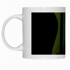 Fractal Prison White Mugs by Simbadda