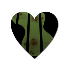 Fractal Prison Heart Magnet by Simbadda