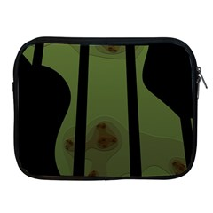 Fractal Prison Apple Ipad 2/3/4 Zipper Cases by Simbadda