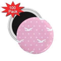 Wallpaper Same Palette Pink Star Bird Animals 2 25  Magnets (100 Pack)  by Alisyart