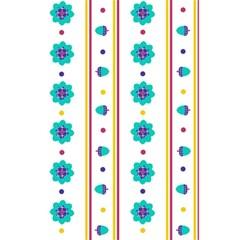 Beans Flower Floral Blue 5 5  X 8 5  Notebooks by Alisyart