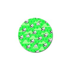 Animals Cow Home Sweet Tree Green Golf Ball Marker (10 Pack) by Alisyart