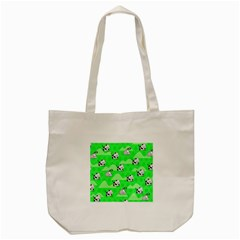 Animals Cow Home Sweet Tree Green Tote Bag (cream) by Alisyart