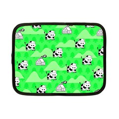 Animals Cow Home Sweet Tree Green Netbook Case (small)  by Alisyart