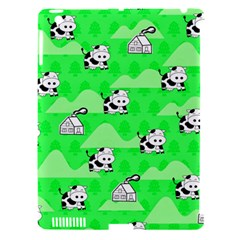 Animals Cow Home Sweet Tree Green Apple Ipad 3/4 Hardshell Case (compatible With Smart Cover) by Alisyart